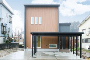 長野「フルハイドアで開放感アップ 空間を無駄なく使ったナチュラルモダンハウス」 ハーバーハウス長野支店