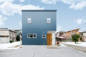長野「コンパクトの中に実用性を備えたガルバリウム外壁の家」 ハーバーハウス長野支店