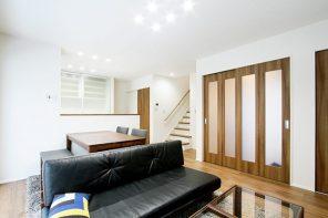 長野「造作のキッチン収納で空間すっきりシンプルモダンハウス」 ハーバーハウス長野支店