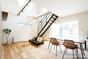 長野「ウッドデッキでBBQを楽しむアカシア無垢床の家」 ハーバーハウス長野支店