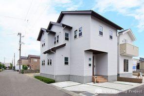 長野「ホワイト・ガルバリウムを使った海が似合う家」 ハーバーハウス長野支店