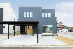 長野「吹抜けの開放感と高断熱性を両立したシックモダンな家」 ハーバーハウス長野支店