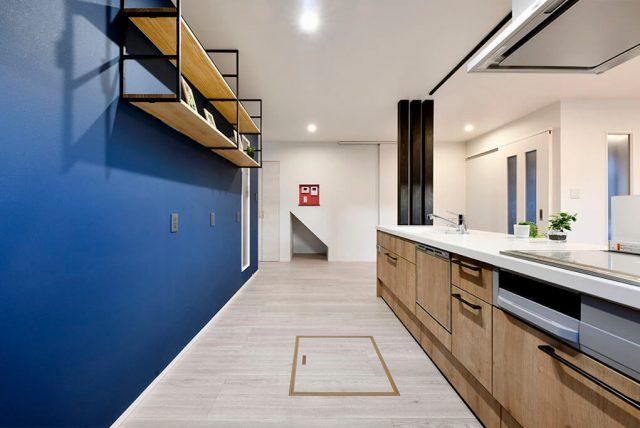 24.8帖×回遊スペース!大空間LDKのスタイリッシュハウス ハーバーハウス上越支店