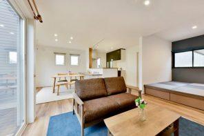 LDK+和室で約23帖の居住スペースを確保! 大容量の小上がり収納もある機能的な家 ハーバーハウス長野支店