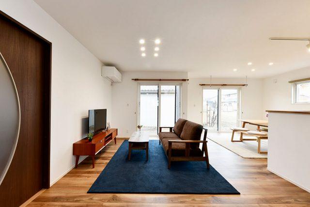 LDK+和室で約23帖の居住スペースを確保! 大容量の小上がり収納もある機能的な家 ハーバーハウス上越支店