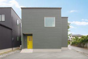 デザインキッチンを採用した鉄骨×無垢の家 ハーバーハウス長野支店