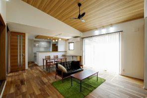 小上がりと合わせて約28帖の大空間LDK!住みやすさ抜群の平屋 ハーバーハウス長野支店
